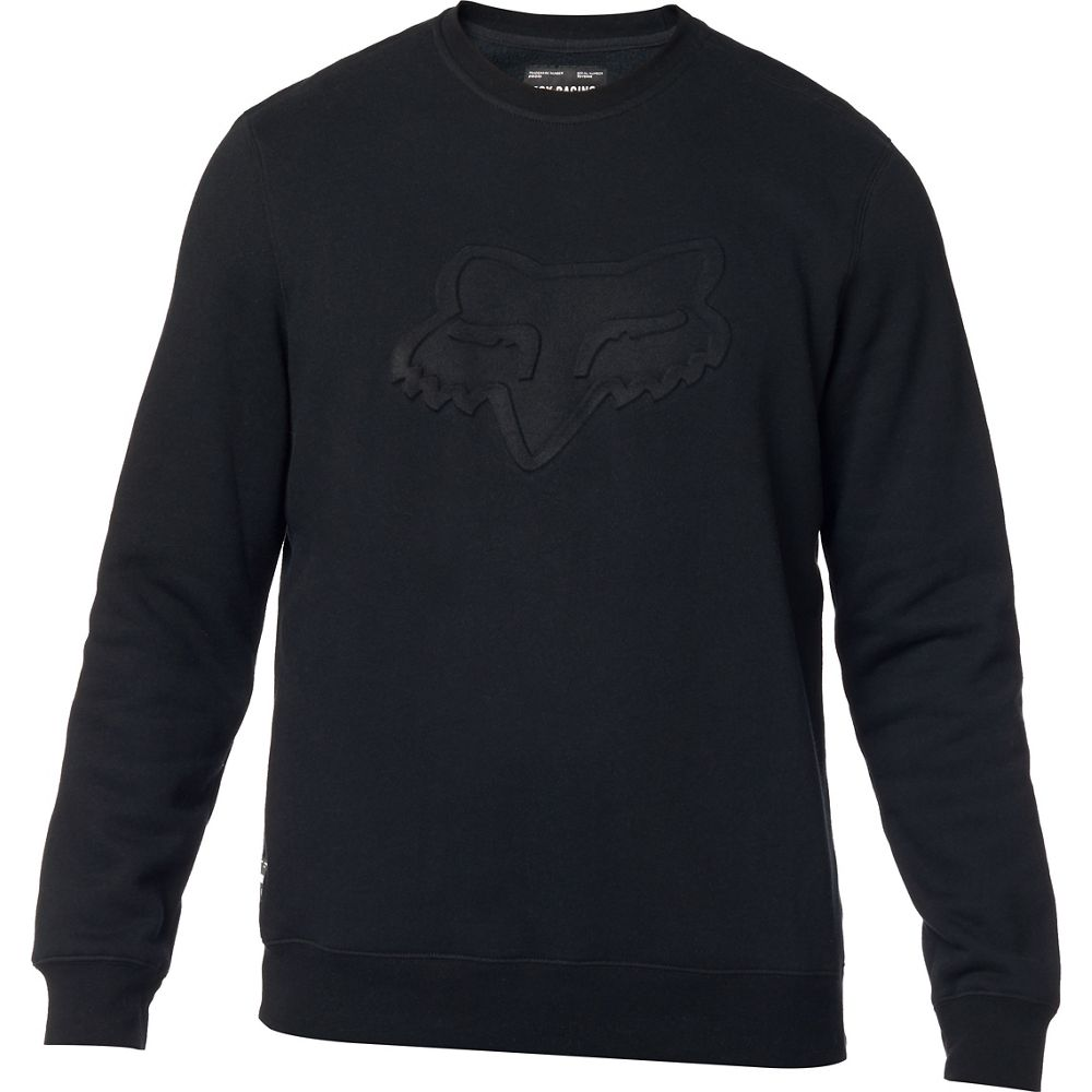 Fox Refract DWR Crew Fleece Pullover Black толстовка