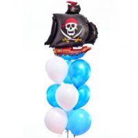 Фонтан из шаров пираты на валне