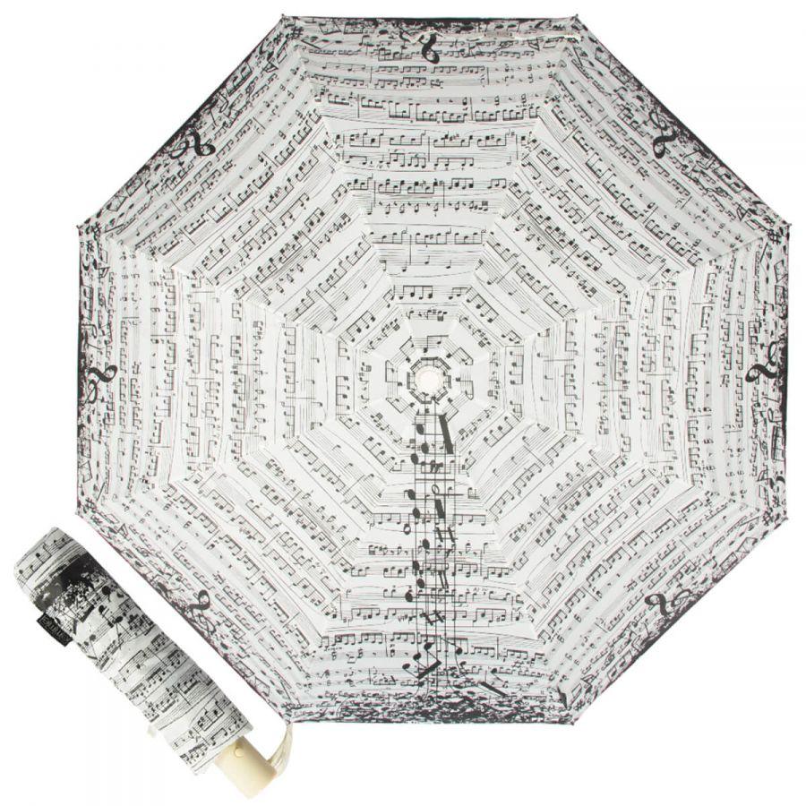 Зонт складной Emme M444-OC Notes Beige