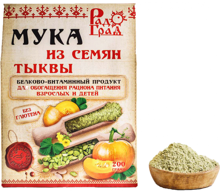 Мука из семян тыквы