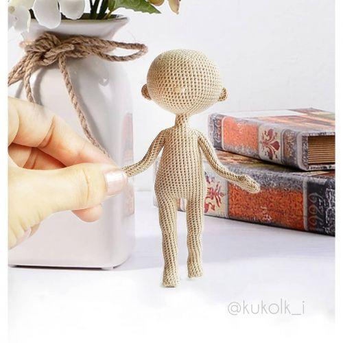 Вязаное тело маленькой куколки (kukolk_i)
