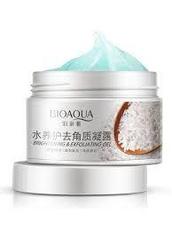 Отшелушивающий крем(скраб) для лица BioAqua