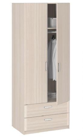 8.024 Шкаф 2-х дверный с ящиками Лотос