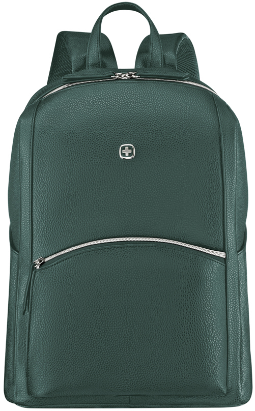 Рюкзак женский Wenger LeaMarie, зеленый, 31x16x41 см, 18 л, (611223)