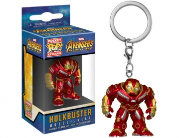 Брелок Funko Pocket POP! Keychain: Marvel: Avengers Infinity War: Hulkbuster 27300-PDQ