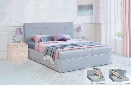 Кровать с подъёмным механизмом Дуэт БНП