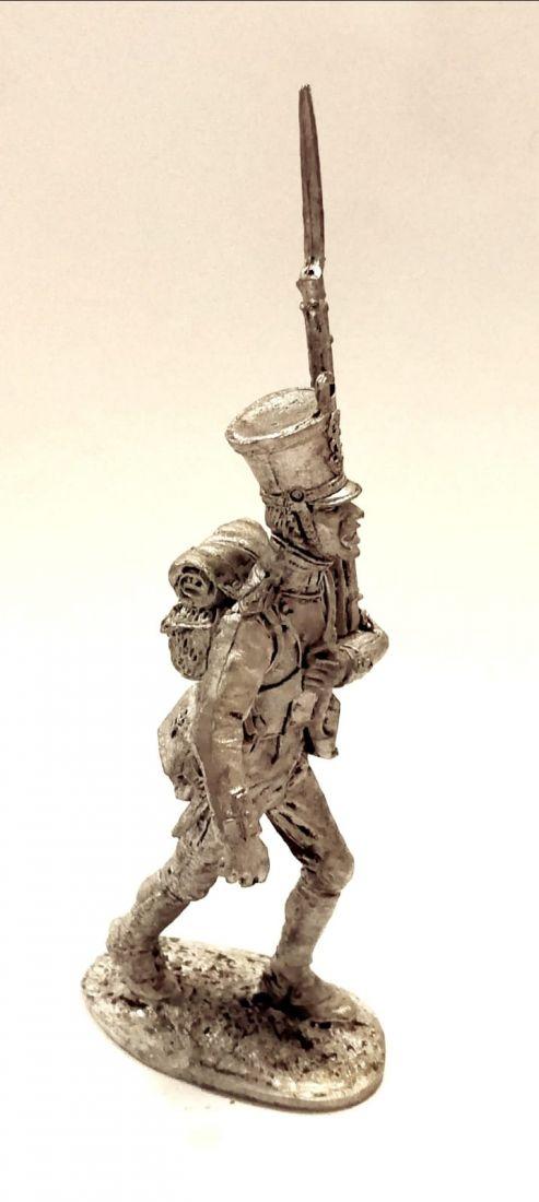 Фигурка Фузелёр линейной пехоты. Франция, 1812-15г олово
