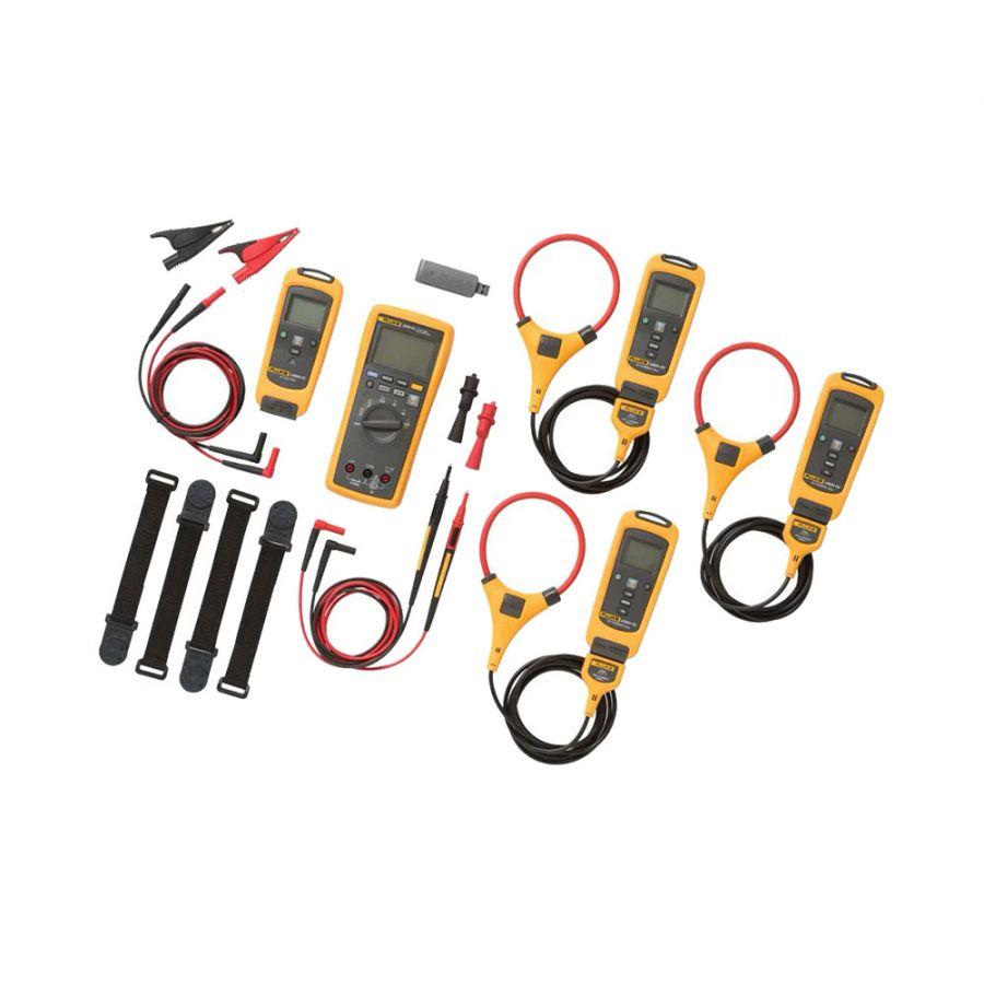 Комплект - мультиметр с вольтметром и токовыми клещами Fluke FLK-3000FC IND