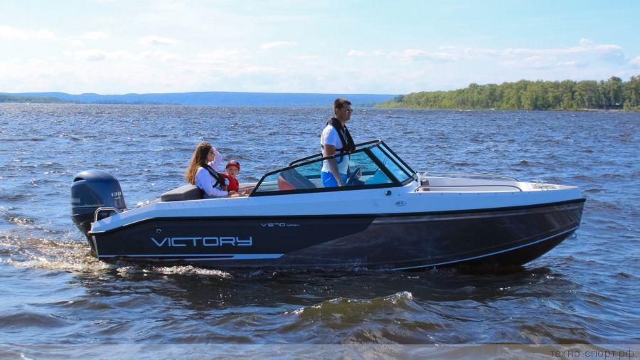 Лодка Victory 570 Open