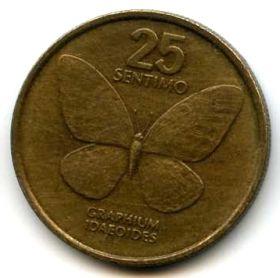 Филиппины 25 сентимо 1990