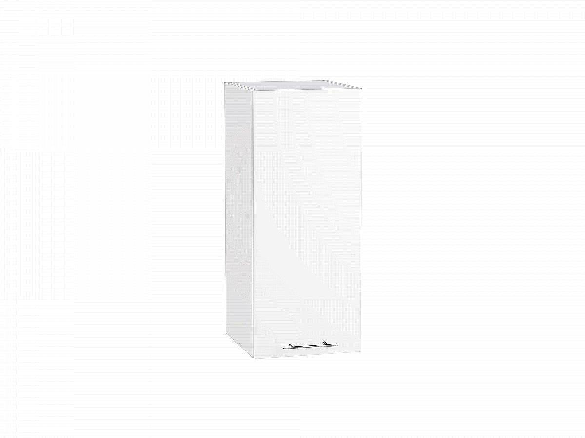 Шкаф верхний Валерия В309 белый глянец