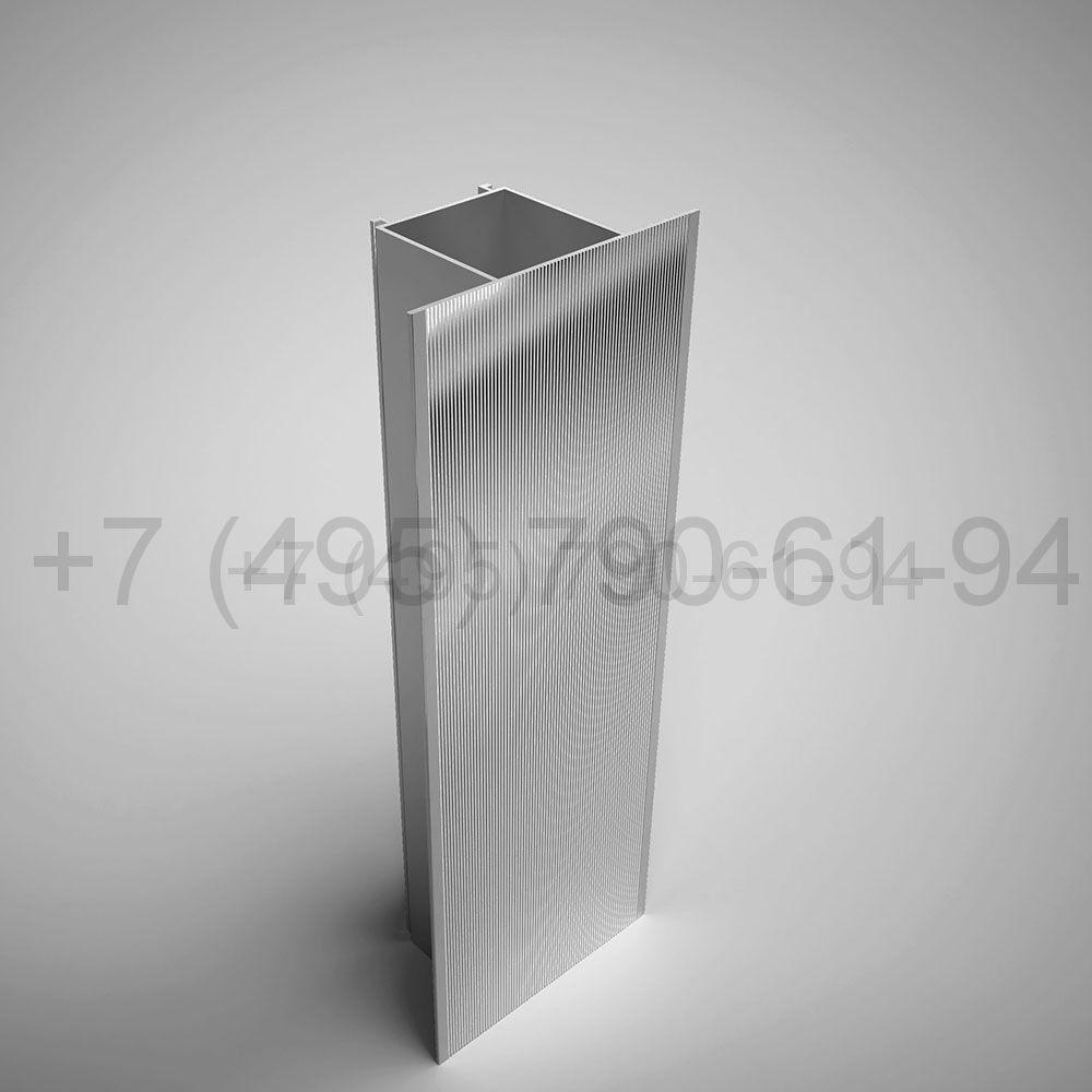 Направляющая межэтажн. фланец 59х110 мм длина 6,0 м  [ КПС 707 ]