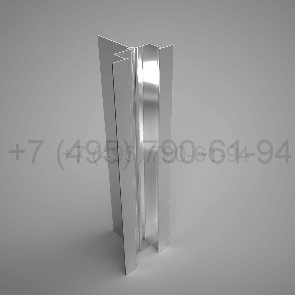 Направляющая Y-образн. под кассеты 80х80*2,2  мм  мм длина 6,0 м  [ КПС 476 ]
