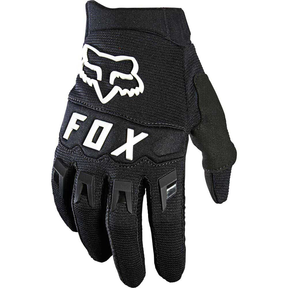 Fox Dirtpaw Youth Black/White (2022) перчатки для мотокросса подростковые