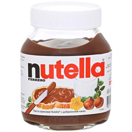 Nutella Qoz-findıq kakao qatqısı ilə, 350 gr