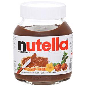 Nutella Qoz-fındıq kakao qatqısı ilə, 630 gr