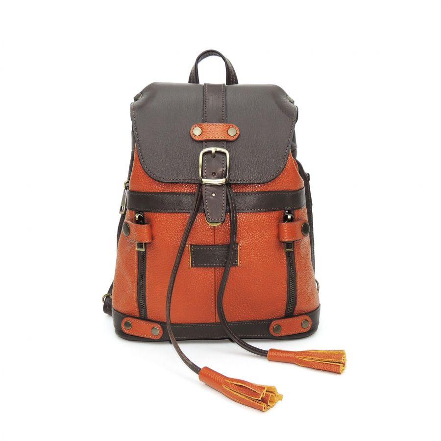 Кожаный рюкзак-сумка «Лисси»