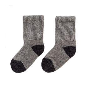Носки детские из монгольской шерсти [Серые]