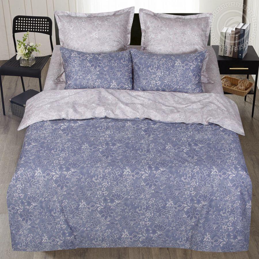 «Эсмеральда» (Premium) постельное белье Сатин 2-х спальный с евро
