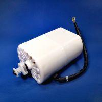 Минимотор VM70-9 (70W, 220V)  для Brother JS 20,23, LS 2125, Janome1143,399, VS50,Yamata FY 2200,14U швейных машин, шкив D8,6 x 9 зубьев (555г)