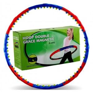 Массажный обруч Double Grace Magnetic JS-6005