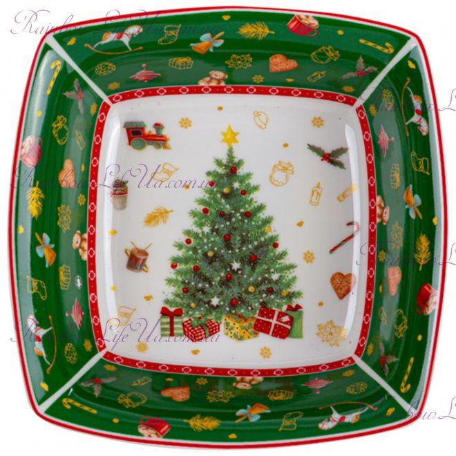 "Блюдо новогоднее 16 см ""Christmas tree"""