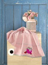 Махровое полотенце BREAKFAST 45*70 (абрикосовое) Арт.3203-4