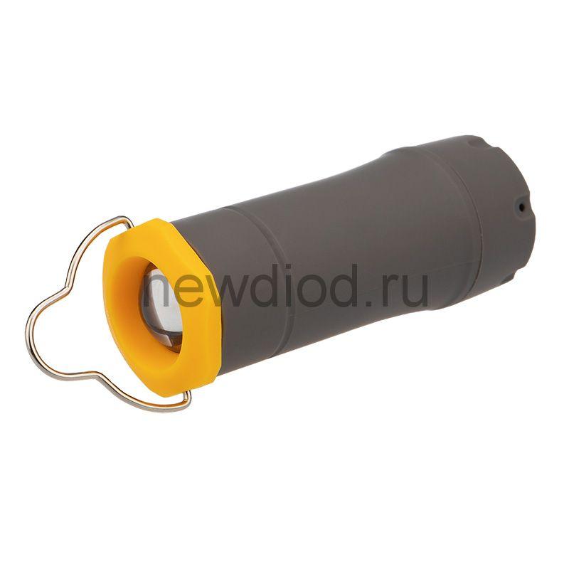 Фонарь универсальный ручной/туристический/ кемпинговый 3 в 1, регулируемый фокус, складной подвес