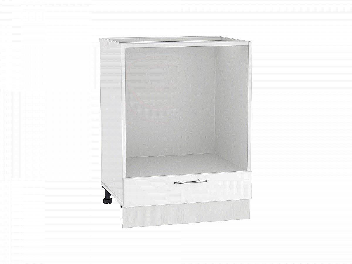 Шкаф нижний под духовку Валерия НД600 белый глянец