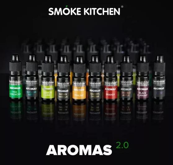Ароматизаторы AROMAS 2.0 10 мл от SMOKE KITCHEN