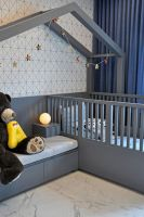Кровать Домик угловой Fairy Land №19 (для взрослых и новорожденного)