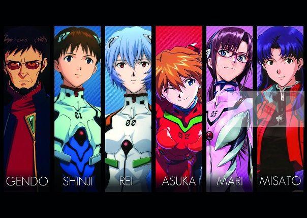 Плакат Neon Genesis Evangelion