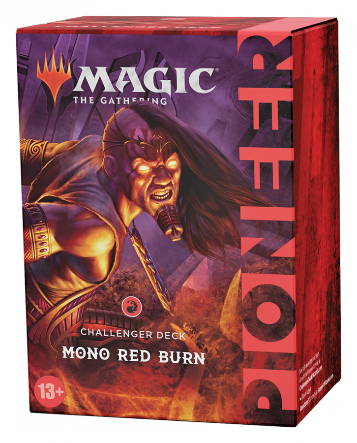 Magic: The Gathering - Pioneer Challenger Deck 2021: Mono Red Burn [Предзаказ]
