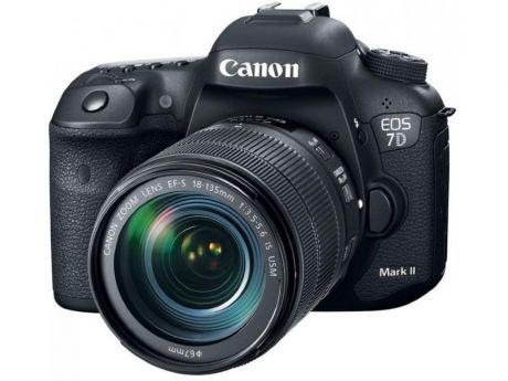 Зеркальный фотоаппарат Canon EOS 7D Mark II Kit 18-135mm IS USM