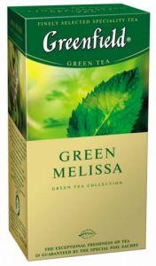 Чай Greenfield Green Melissa 25шт