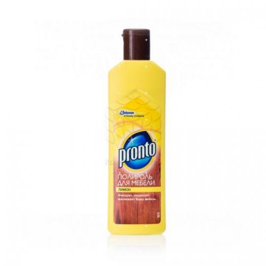 Полироль для мебели Pronto limon 300 гр