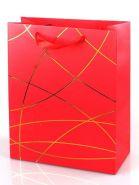 """Пакет подарочный """"Классика"""", красный, 26*32*12 см"""