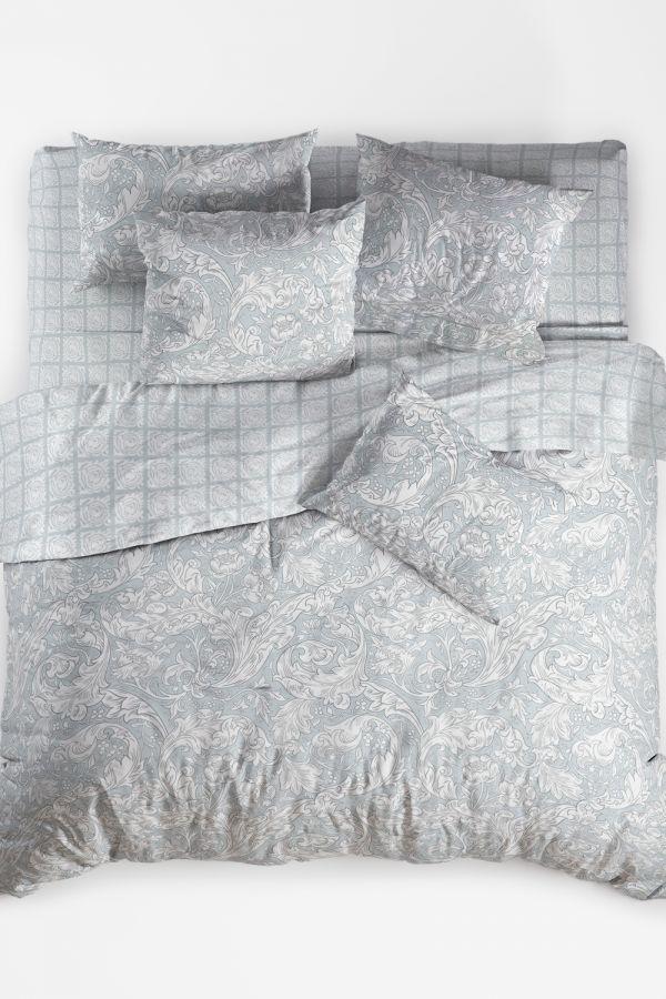 Поплин [в ассортименте] Вензель пододеяльник на молнии постельное белье