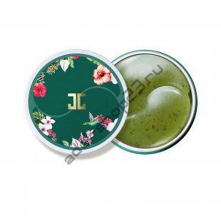 Jayjun - Гидрогелевые патчи с лепестками зелёного чая
