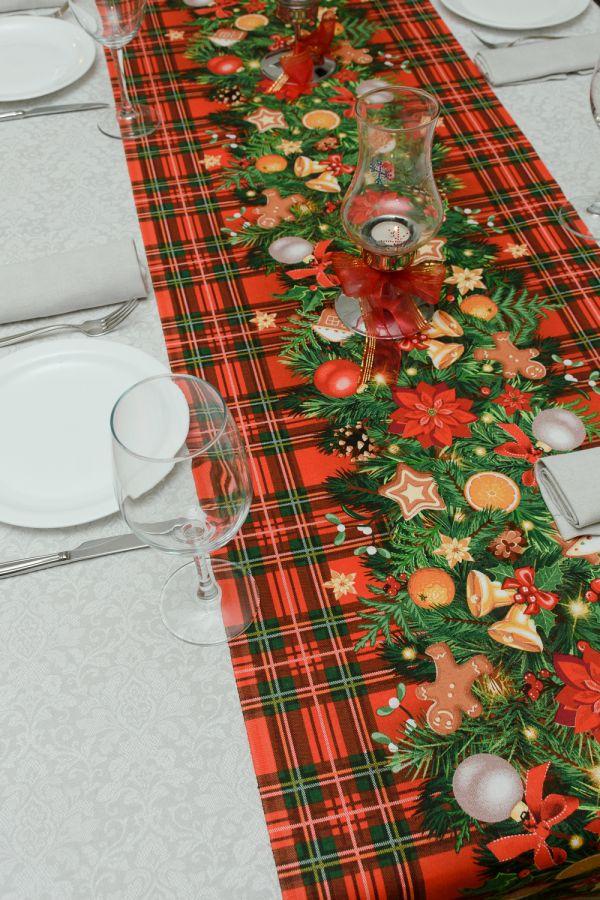 Набор столовый 32651 150*180 [красный]