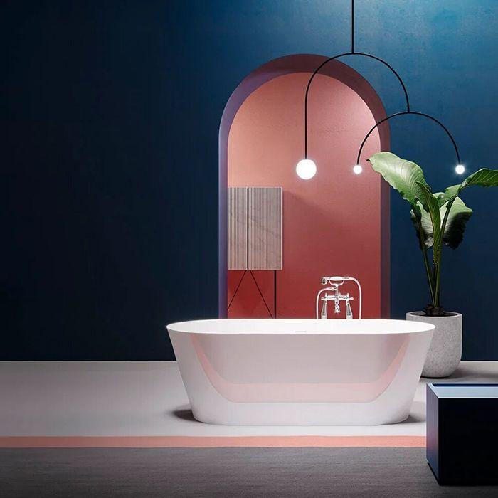Отдельностоящая акриловая ванна Gruppo Treesse Inka 150х70 V385 ФОТО