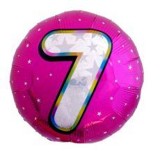 Круг цифра 7