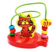 """Деревянная игрушка. Лабиринт """"Котик"""" (арт. ИД-7002)"""