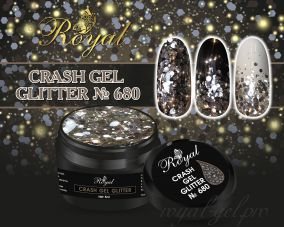 680 CRUSH GEL ROYAL 5 мл