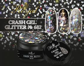 682 CRUSH GEL ROYAL 5 мл
