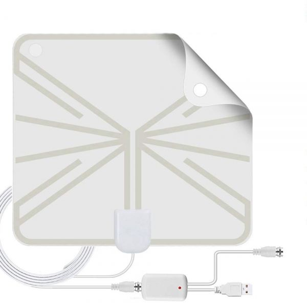 Антенна ТВ ОРБИТА TD-017 комн. с усилит. (USB)