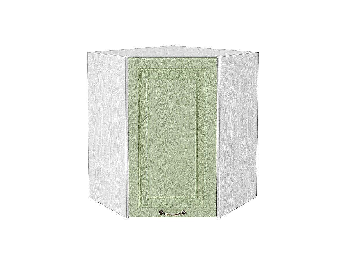 Шкаф верхний угловой (трапеция) Ницца ВУ590 (дуб оливковый)