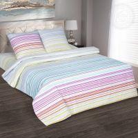 «Полоска» (DE LUXE) постельное белье Поплин