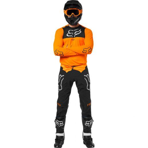 Fox - 2019 Flexair Royl Orange комплект джерси и штаны, оранжевый