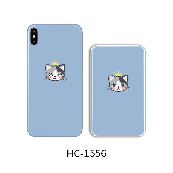 Защитный чехол HOCO Colorful and graceful series для iPhoneXR (кот на голубом)